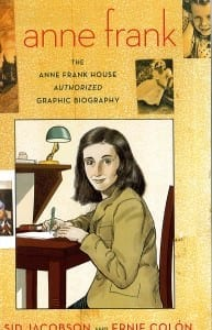 book cover of Anne Frank