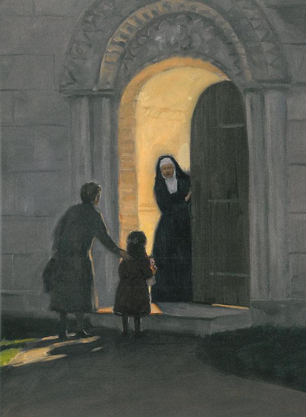 Irena Sendler Bill Farnsworth painting