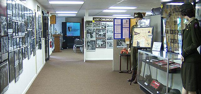 image of museum corridor