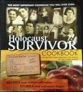 cover of Holocaust survivor cookbook