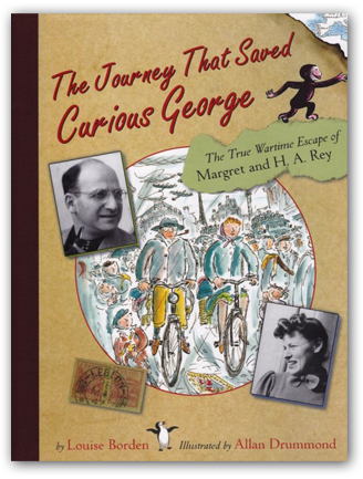 book cover of The Journey that Saved Curious George