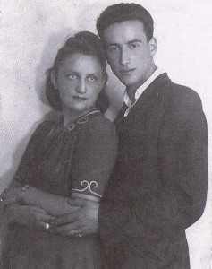 Abe Price pictured here with his wife, Sala