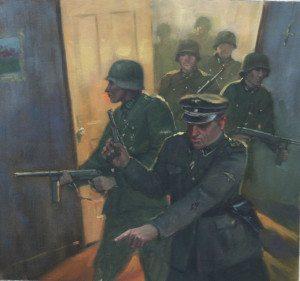 Gestapo storms Sendler's apartment