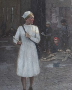 Sendler worked as Social Worker in Warsaw's ghetto