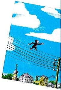 C George on wire