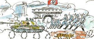Germans take over Paris