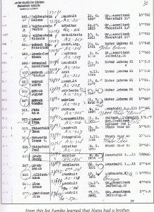 Brother's transport papers