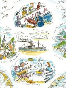Reys at sea