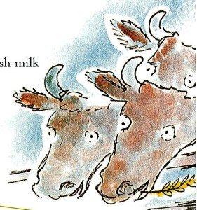 Reys barn cows