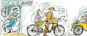 Reys on bike