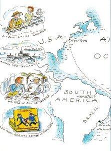 Sea map second leg