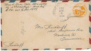 Duff Letter Envelope 04.03.1945