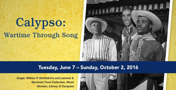 calypso: wartime through song