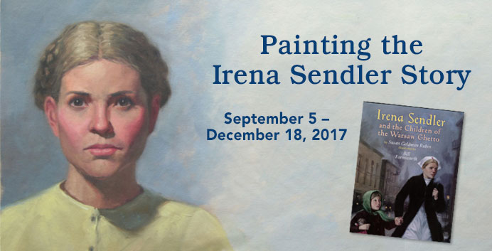 Painting the Irena Sendler Story