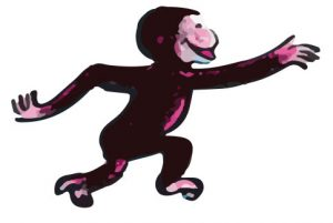 curiousgeorge-monkey-graphic