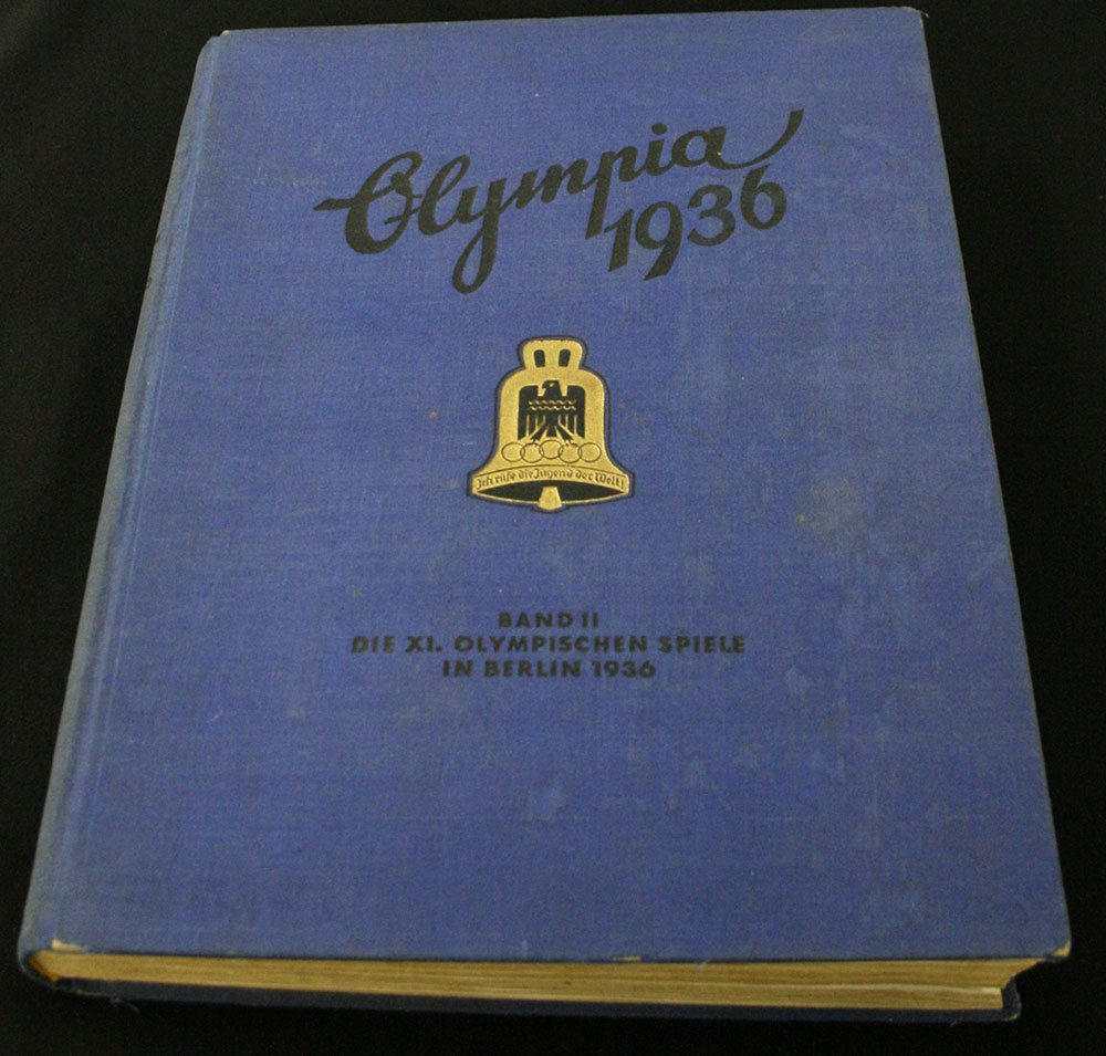 Olympia 1936 book cover