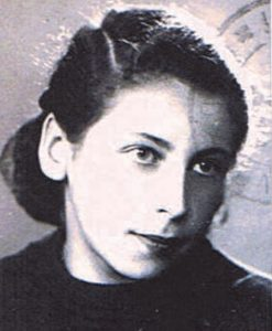Anneliese Salamon as a young girl