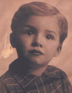 image of Cesare Frustaci as a young boy
