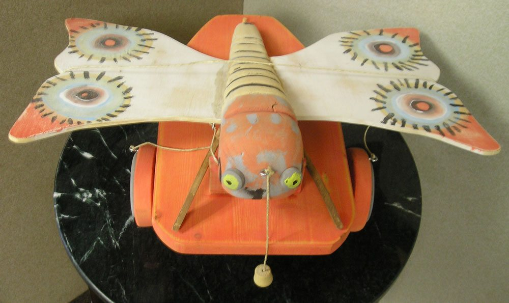 Replica of Child's Butterfly toy from Theresienstadt