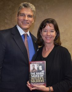 Jewish Book Festival of Collier County Susan Suarez with sither Bryan Mark Rigg