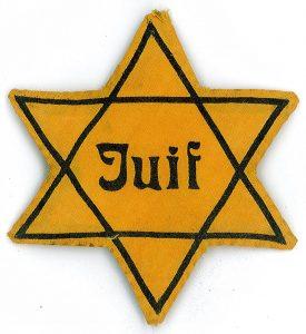 yellow star of david badge
