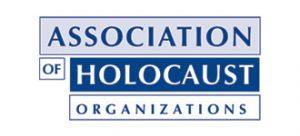 Association of Holocaust Organizations logo