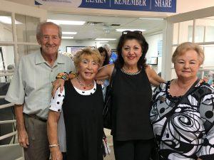 Volunteers at a 2018 appreciation event